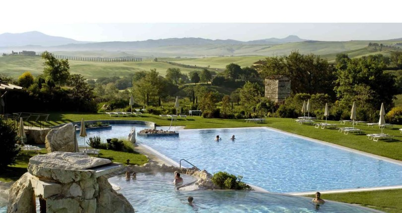 Thermal Springs in the Val D'Orcia